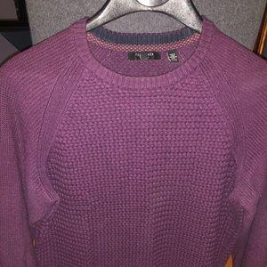 Ted Baker purple/plum knit sweater